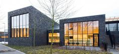 Library Zoersel (B) Environment #inspiration #cultural #house #modern #architecture