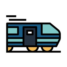 See more icon inspiration related to train, railway, subway, transportation, public and transport on Flaticon.