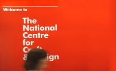 National Centre for Craft & Design by SB Studio #signage #exhibit #sign