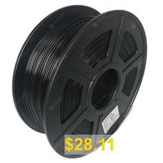 Superfila #3D #Printing #Filament #PLA #1.75mm #For #Creality #CR-10S #Ender #3 #- #BLACK