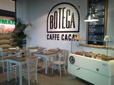 Botega Caffè Cacao LEGNANO on Behance #interior