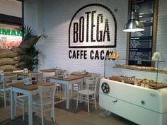 Botega Caffè Cacao LEGNANO on Behance #interior