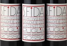 Packaging - Louise Fili Ltd #packaging #wine