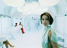 Architecture in the Movies, Part 3 – Logan's Run | ouno #movie #run #70s #fiction #logans #science