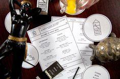 Punch House #menu #identity #design #print #food