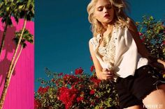 Sky Ferreira by David Roemer #fashion #photography #inspiration