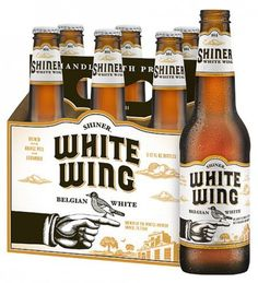 Shiner White Wing Packaging #packaging #beer