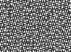 Intervallo #geometry #white #pattern #black #texture #triangle #and #drawing
