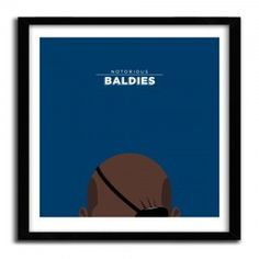 Notorious Baldie NICK FURY by Mr Peruca #print