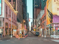 New York, By The Way: Urban Pastel Color Photography by Ludwig Favre