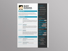 Brand ID Resume - Free Resume Template for Best Impression