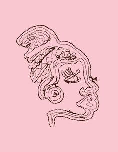 PENDUKA embroidery logo pink