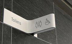 Restroom Signage #signage #pictogram #icon