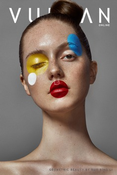 """GEOMETRIC BEAUTY"" for Vulkan Magazine"