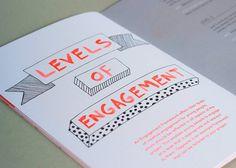 Description #lettering #design #orange #graphic #booklet