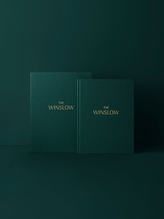 The Winslow branding - Mindsparkle Mag The Winslow designed by Vanderbrand is a premium, boutique residential project by Devron Developments. #logo #packaging #identity #branding #design #color #photography #graphic #design #gallery #blog #project #mindsparkle #mag #beautiful #portfolio #designer