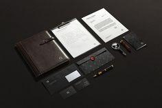 Odden & Radich branding #visual #identity #branding #stationery