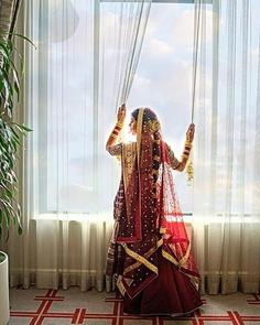 beautiful-bridal-portrait-with-stunning-lehenga