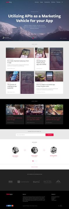 Blog_home #site #ui #website #digital #webdesign #layout #web