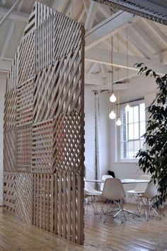 Room divider #spaces