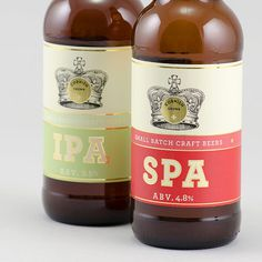 Cornish Crown Bottles #beer #label
