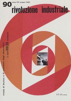 Max Huber, Rivoluzione Industriale 1960 #max #huber #design #graphic #cover #1960