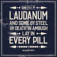 Image of LAUDANUM Typeface #type #font #typeface