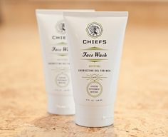 Chief's Skincare #identity #packaging
