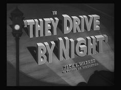 1940 - 1944 | The Movie title stills collection #1940s #movie #titles #film #type #still #typography