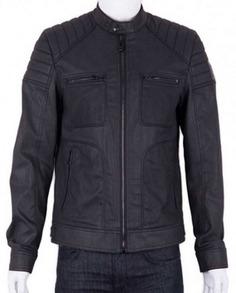 Josh Segarra Arrow Padded Leather Jacket (5)