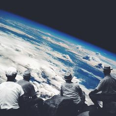 the climb: part II by Edgar Hernandez #earth #collage #universe #climbers #space