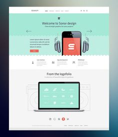 Sonor Radium #design #layout #website #web