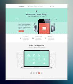 Sonor Radium #website #layout #design #web