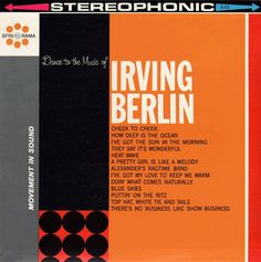 Project Thirty-Three: Dance to the Music of Irving Berlin #music #cover #album