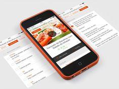 SAPO Sabores Recipe #presentation #mobile #ui