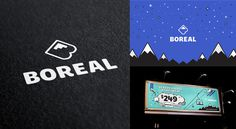 Boreal by Hovercraft Studio #logo #design