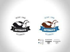 VILLARRIBA - Logotipo para Héctor Bascuñan, artesano dueño de... #logo #branding