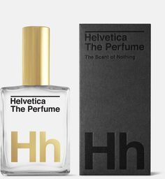 Helvetica the Perfume #packaging #perfume #helvetica
