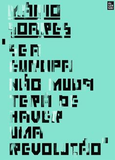 the typo news - typo/graphic posters #lettering #news #typography #the #poster #lopes #typo #paulo