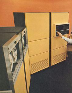 honeywell yellow2 #computer #photography #retro