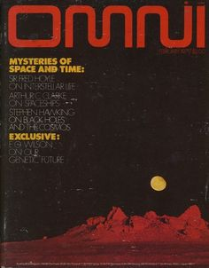 All sizes | Omni Magazine, February 1979 | Flickr - Photo Sharing! #design #fiction #fi #space #sc #science #typography