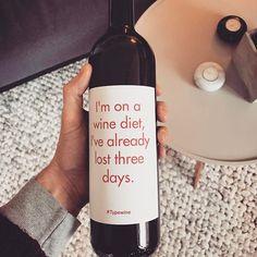 Für die guten Vorsätze im neuen Jahr 😂😂 #typewine #2017 #newyearsresolutions #newyear #wine #design #cheers