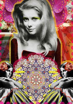 ¿Dónde vamos? | Peperina Magenta #collage #art #arte #ilustration #ilustración #creative #amor #love #digital art #digital work #colour #