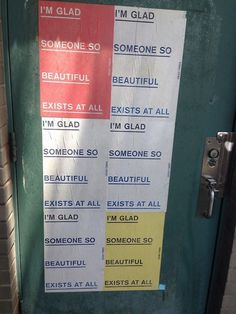 im glad #graffiti #nyc #signs