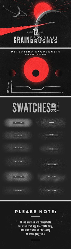 Grain Procreate Brushes – Free Download by Pixelbuddha