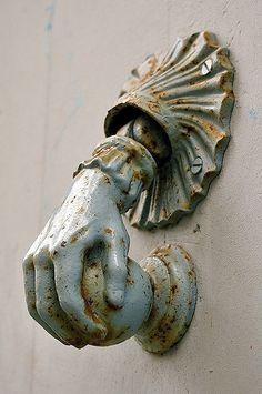 Hand Door Knob #door knob