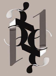 Clik clk – Blog d'inspiration » Sarah Kahn #design #graphic #poster #typography