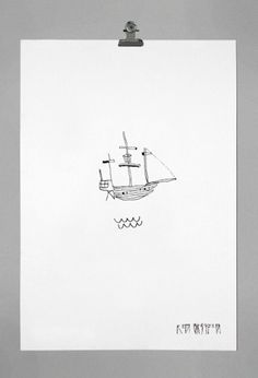 tumblr_lz95u5C2EK1qc678qo1_1280.png 759×1112 pixels #ken #illustration #ship #griffen #pirate