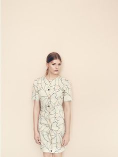 Ornament Dress, Atlas #fashion