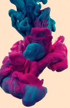 a due Colori on the Behance Network #ink #water #vibrant